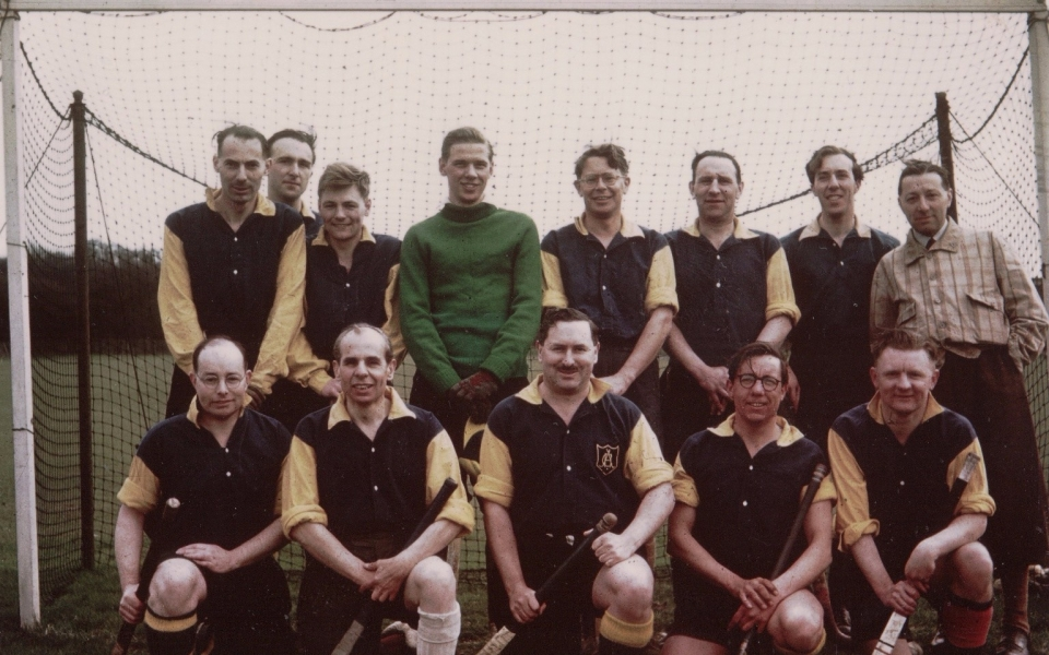 1954-1955 3rd XI – Peak Freans Ground – Mottingham