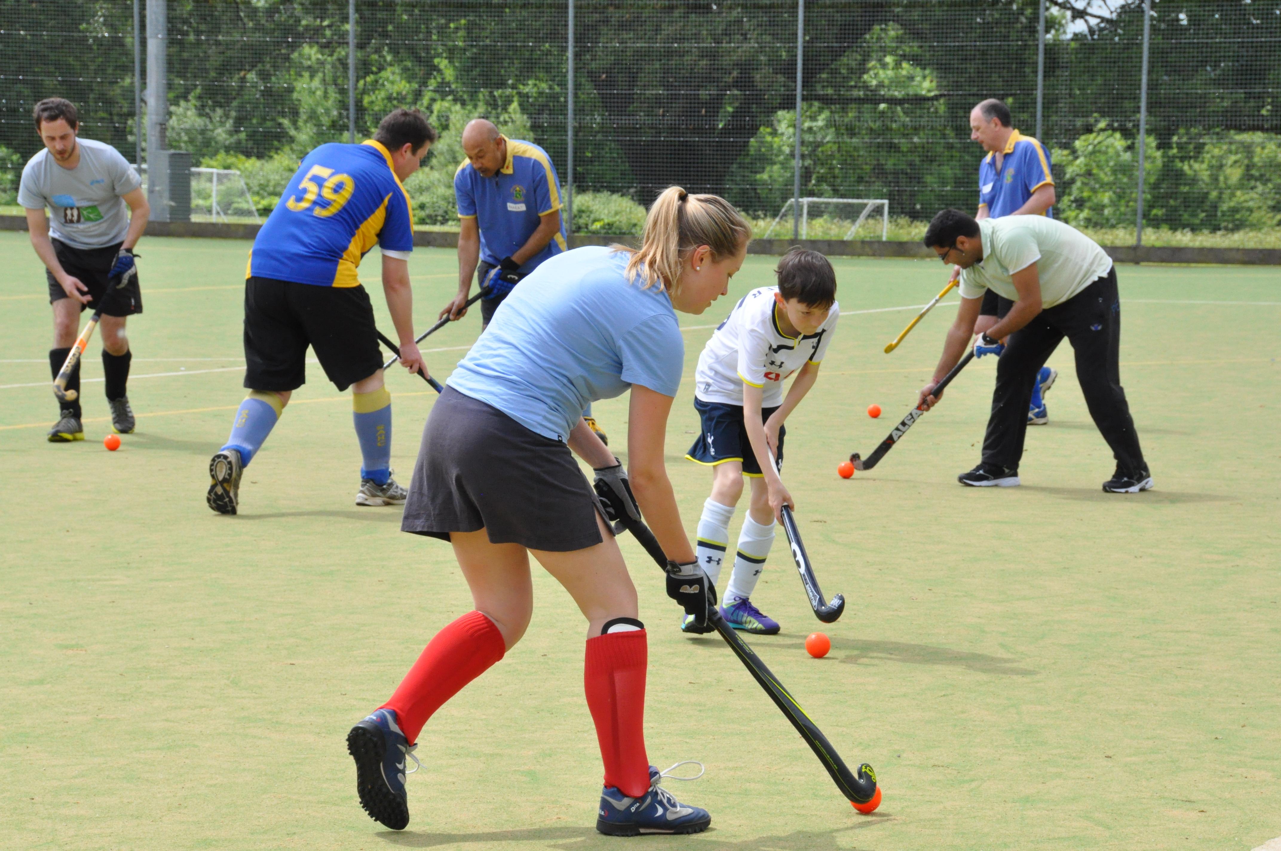 Free Hockey Training at a new temporary venue