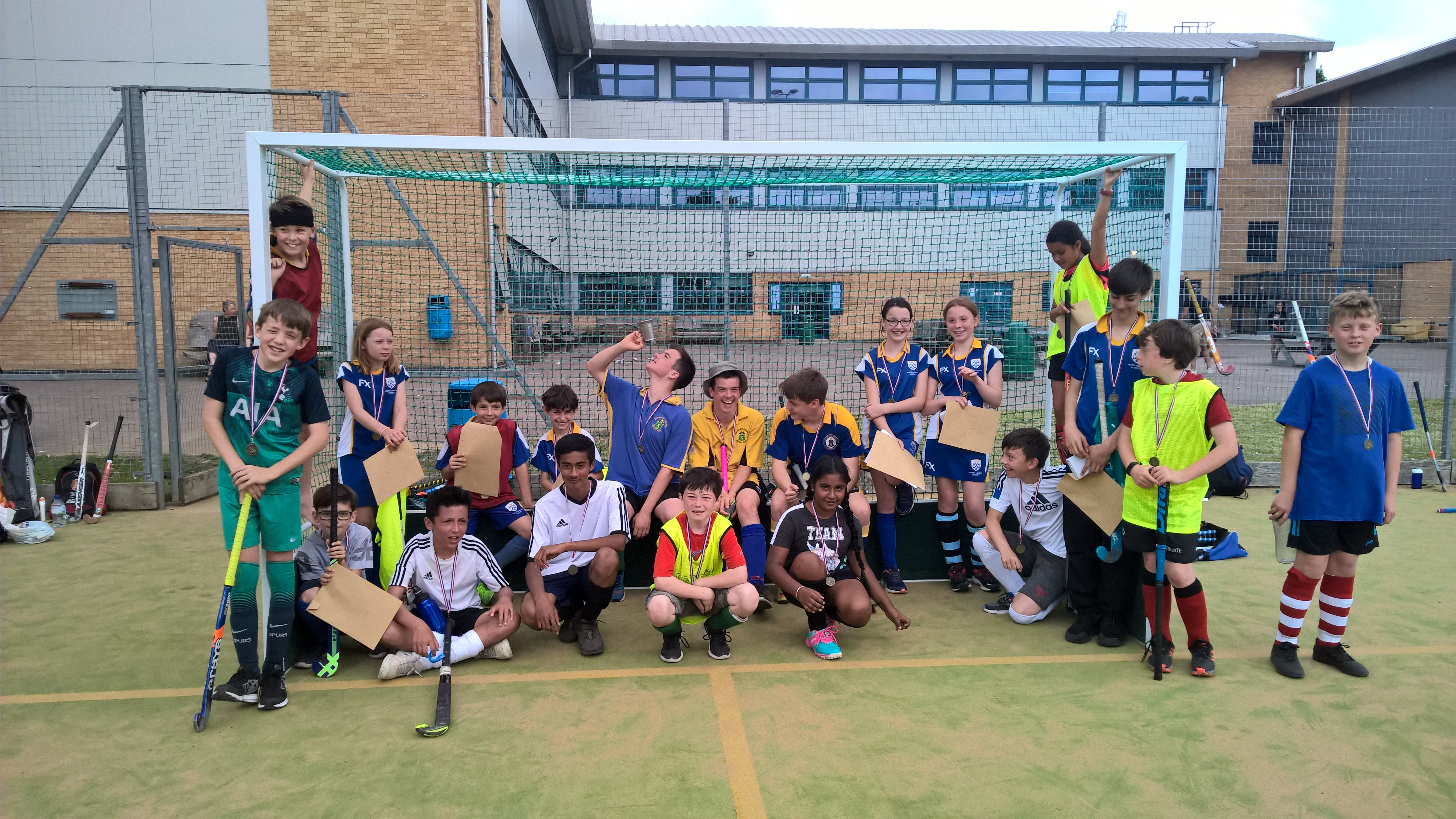 North London Hockey sessions start again Sunday 27th September at a new venue
